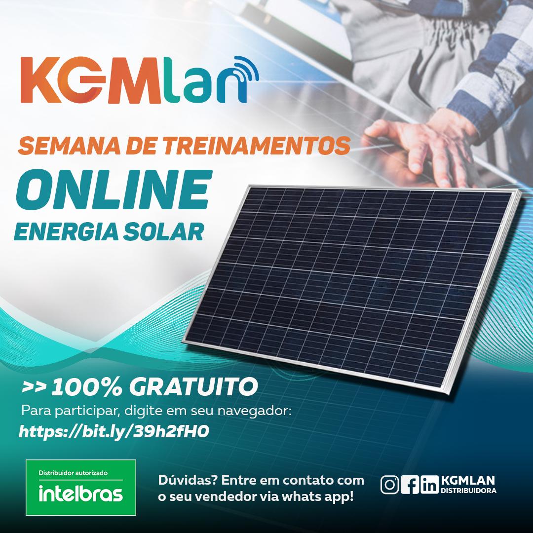 CURSOS ONLINE – ENERGIA SOLAR FOTOVOLTÁICA